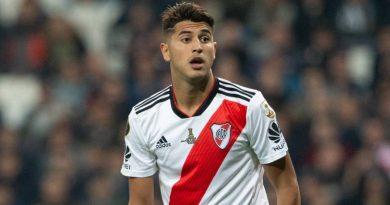 Exequiel Palacios se lesionó y es duda para la Copa América